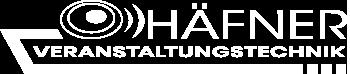 Logo der Häfner Veranstaltungstechnik GbR
